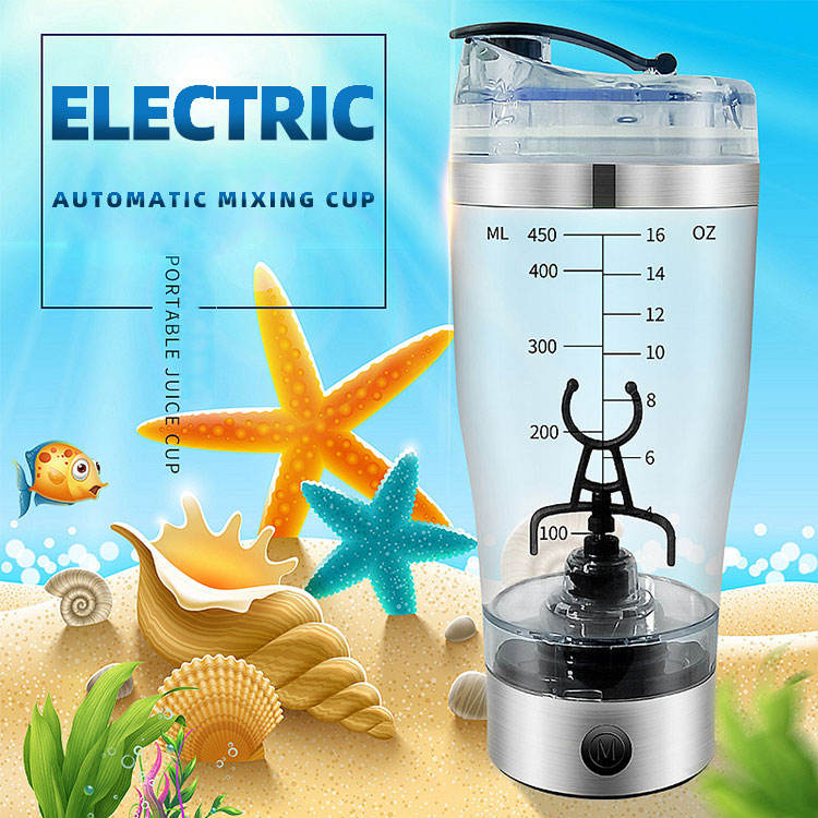 New invention 2019 battery operated electric vortex protein shaker with Sport bottle Shaker for Gym