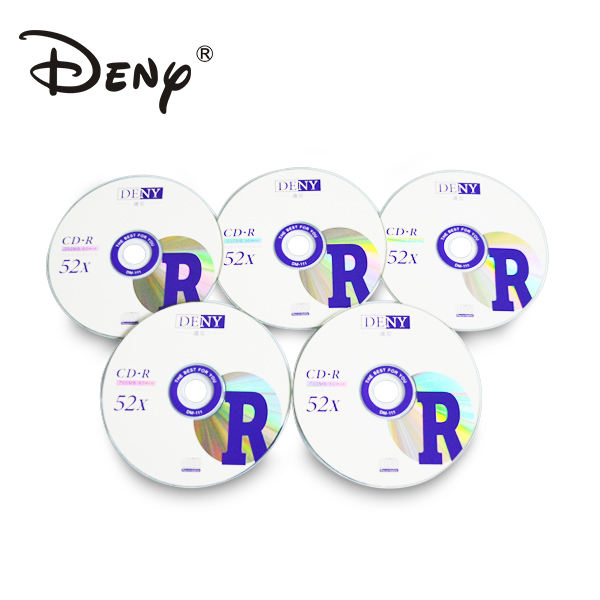 Import high quality empty cd disc with 700mb 52x