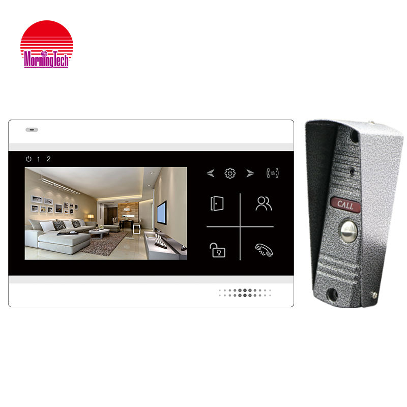 Hot sale 4.3 inch hd color video intercom doorbell smart door bell video door phone with camera