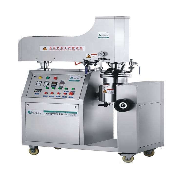 Cream/Lotion/Pastes/Cosmetic Tooth Paste Emulsifying Making Machine Sme-a Bottom Homogenizer Emulsifier Vacuum Mixer Machine