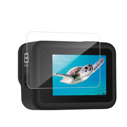 Newest Action Camera Accessories Tempered  Glass Screen  Len