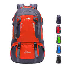 Y0019 Custom private label waterproof 40L adventure camping rucksack men woman hiking backpack