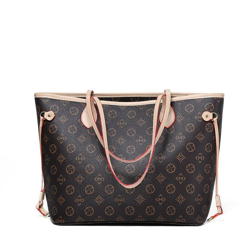 Branded high quality classic luxury fashion designer ladies leather channeled purses and bags women handbags