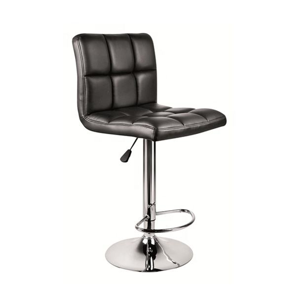 Chinese Factory Modern hot selling PU leather adjustable bar stool chair