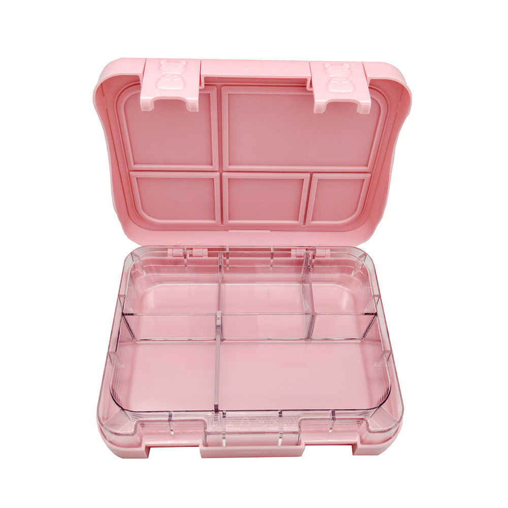 The Top Seller Amazon Leakproof Customized Plastic Bento Lunch Box for Children
