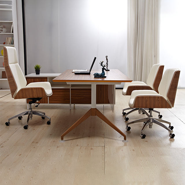 Modern Leather Multifunction Chair Hotel Desk Chair Meeting Chair High Quality Office Use Swivel