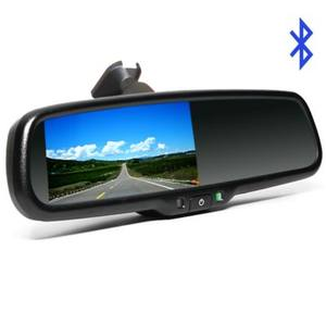 Wholesale Smart 4.3 Inch Rearview Mirror Bluetooth Car Kit For toyota hilux