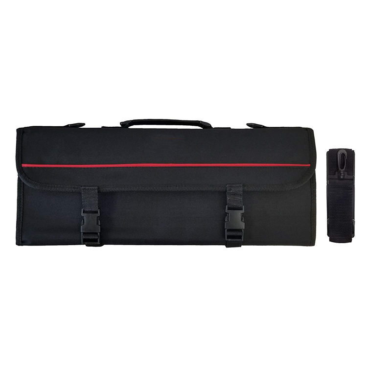 Wholesale Custom Durable Portable Chef's Gear 8 Pockets Chef Knife Roll Bag Case