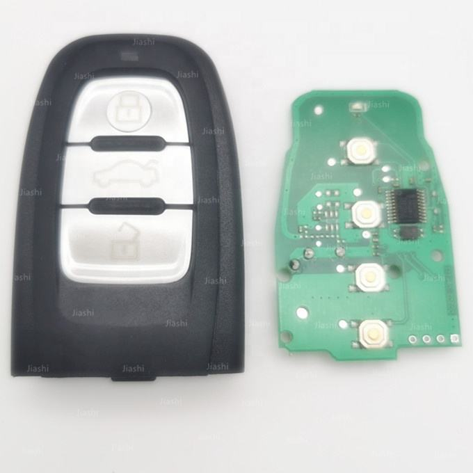 Jiashi Audi Smart Key 3 button Car Remote Key Fit for for A4/S4/A5/S5/Q5 with 868MHz FCCID 8T0959754C