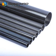 high quality 40mm 50mm 60mm 70mm 80mm carbon fiber tube 2 meters long