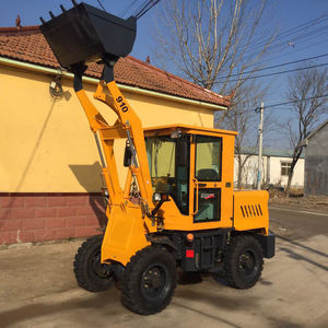 multi-function articulated mini wheel loader price