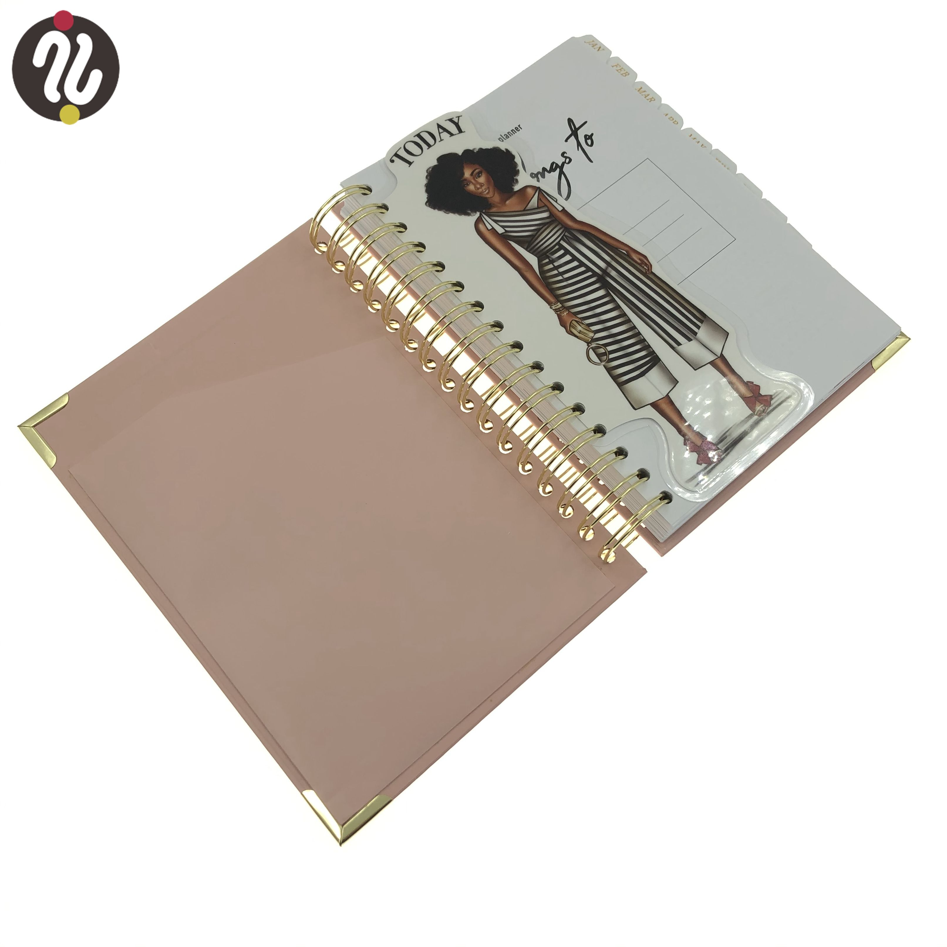 Cheap Factory Price a4 notebooks with spiral binding notebook 5 star subject