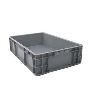 Industrial Euro Standard Plastic Storage Crates Customized