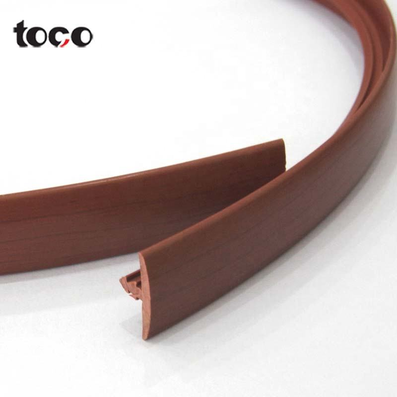 T Molding Plastic Table Edging Trim Pvc Edge Banding/T ruber seal For Furniture