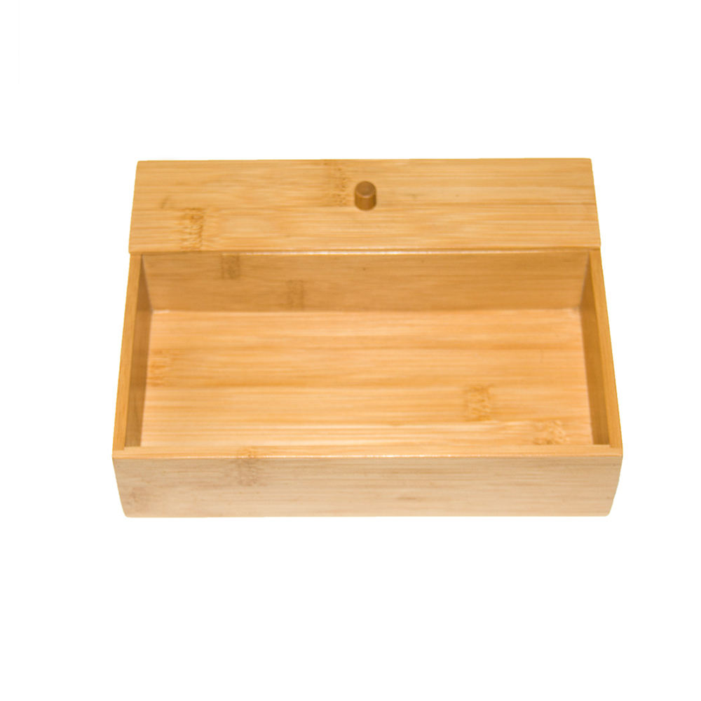 Popular Gift Bamboo Collection Office Supplies Tray Desk Organizer
