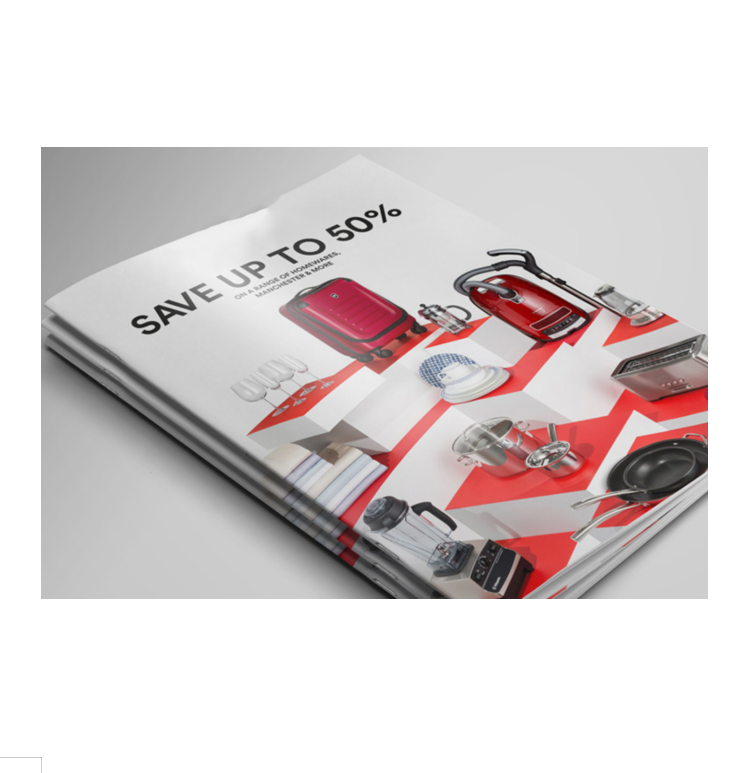Saddle stitched customized booklet catalog colour brochure printing
