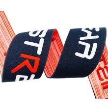 1.25 Inch Personalized Print Woven Elastic Ribbon Garment Nylon Jacquard Waist Band for Sport Underwear