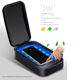 Smart phone mobile phone ultraviolet lamp UV-clean wireless charger uv light sterilizer uv cell phone sanitizer