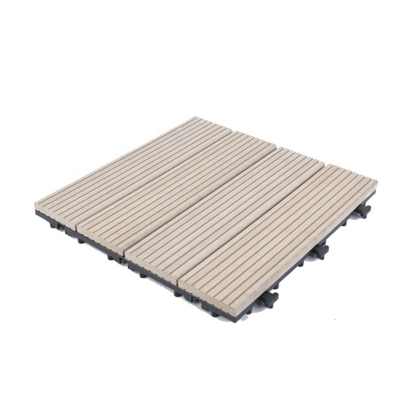 free sample best wpc wood floor board plastic composites deck tile for swimming pool