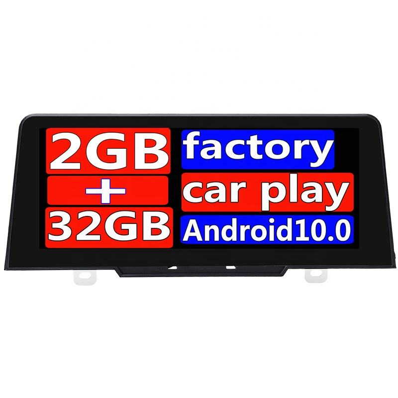 10.25 Layar Besar Mobil Video Player Android 10.0 2G 32G Hitam Frame Mobil GPS Stereo Audio Video Layar untuk 1 Seri F20 Android F21