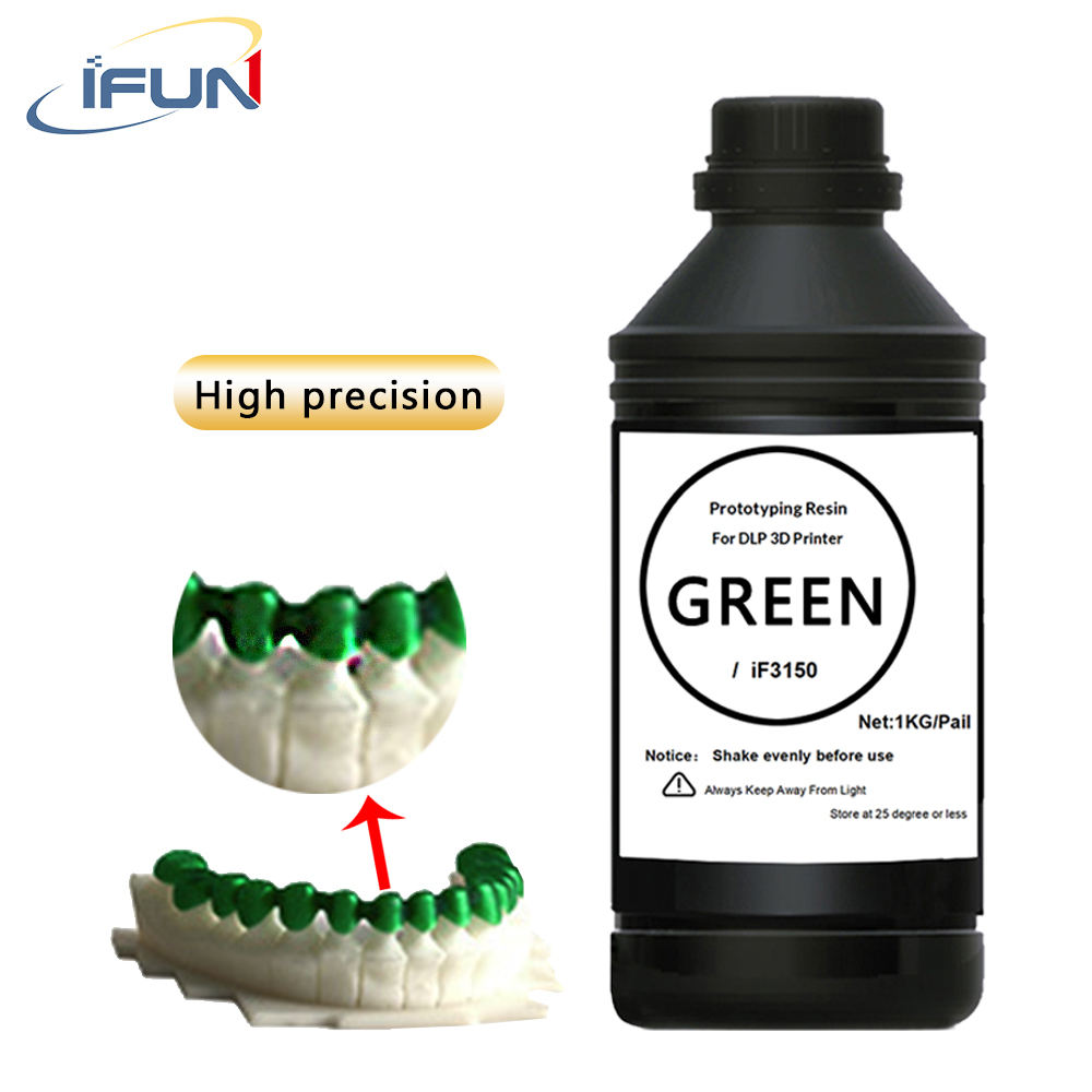 IFUN 3150 3D Printer 405nm UV Photosensitive Resin for 3D Printer Rapid Prototyping Molding Resin