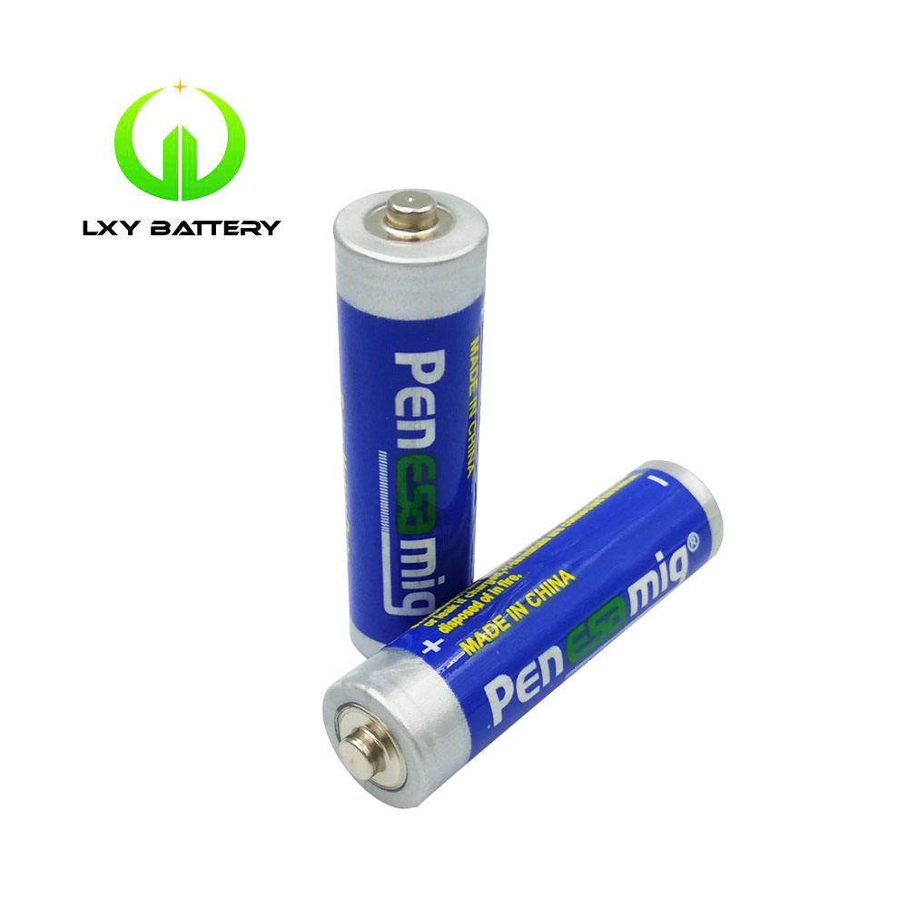 Good Quality Samples Aaa Battery For Egypt Custom 1.5V AAA Aaa Card Packing 1.5v R03p battery
