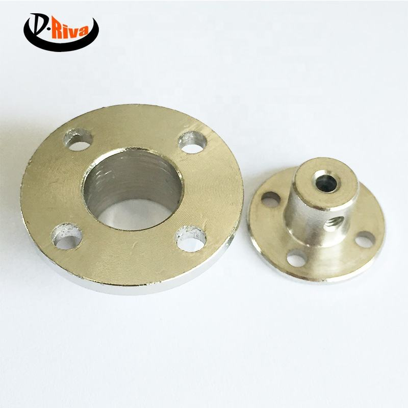 Aluminum spline shaft coupling factory stock