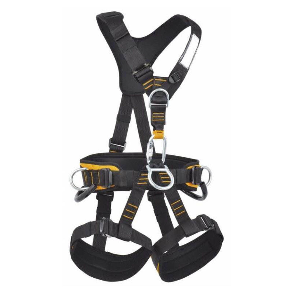 Full body fall arrest tree rock climbing harness belt customized