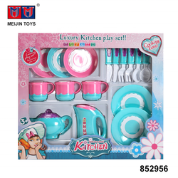 funny kitchen play plastic girl toys tea set for sale