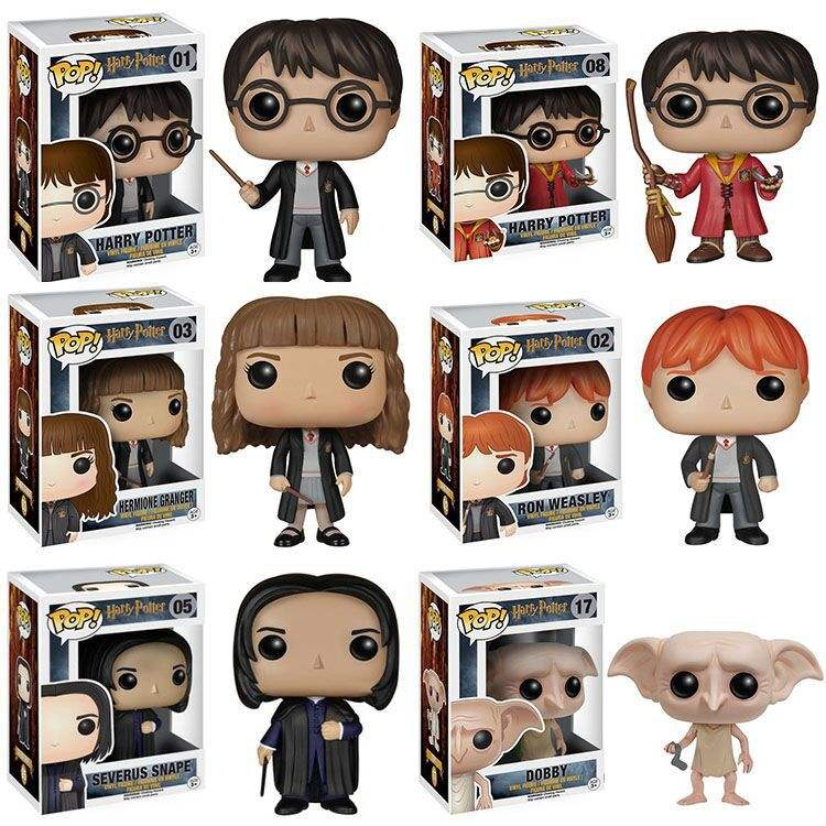 Anime Toys Action Figures Funko Pop Harry Potter