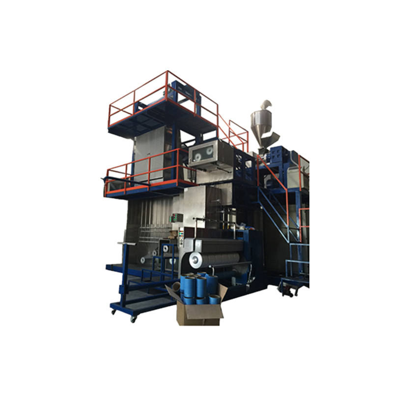 pp multifilament yarn spining drawing extruding machinery