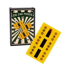 Wholesale Close Up Magic Prop Zig Zag Pencil Easy to Do Magic Trick for Children