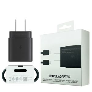 25W Charger EP TA800 UK EU USประเภทCสำหรับSamsung Note 10 ChargerและType-C TOประเภท-C