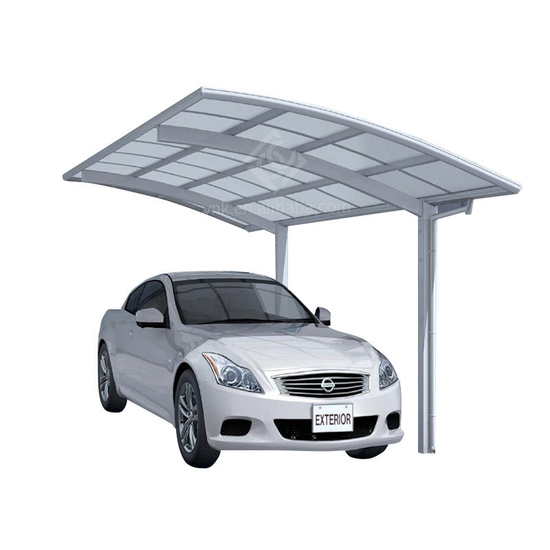 Portable Cantilever Steel Frame Carport/shelter With Strong Posts