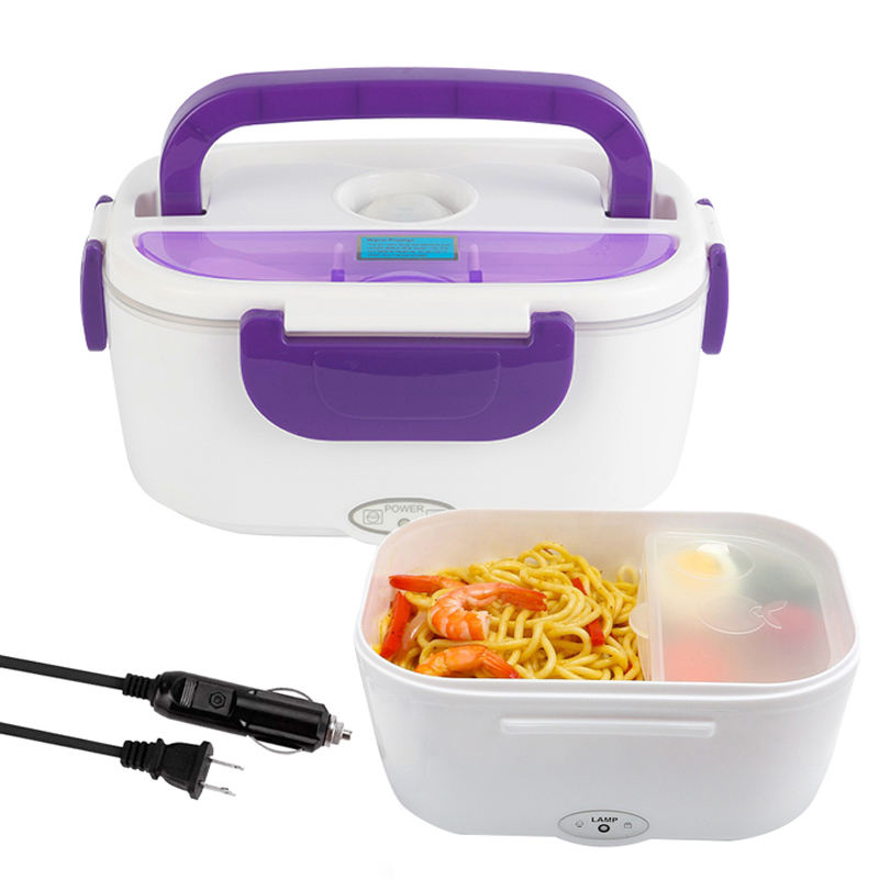 mobile self heating lunch box electric lunch box portable