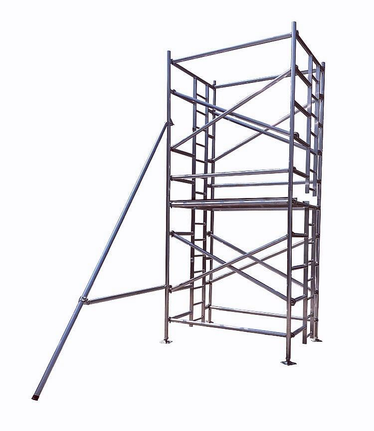 China Mobile Aluminum Ring Lock Scaffolding Frame/Scaffold Tower System for Sale