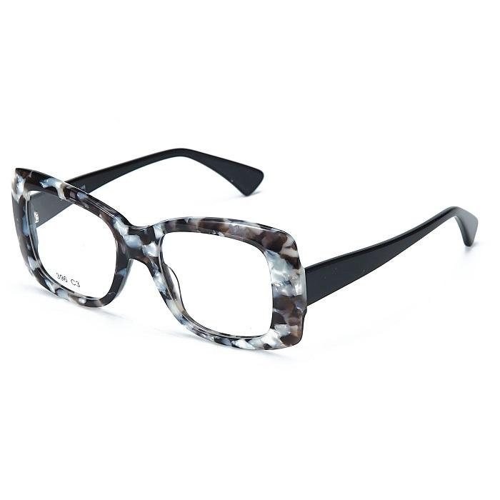 Zenottic Customized Women Optical Female Thick Acetate Frame Optical Glasses Eyeglasses