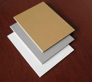 PE coating 3mm aluminum composite panel interior use