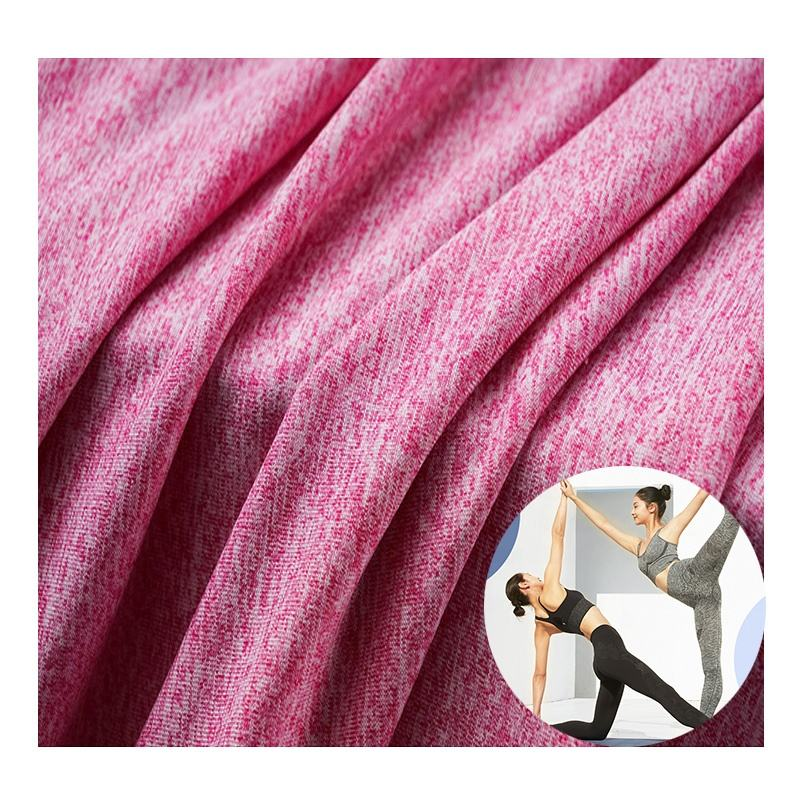 Nylon Spandex Wicking Breathable Stretch Quick Dry Eco Elasticity Sport Yoga Print Recycle Fabric