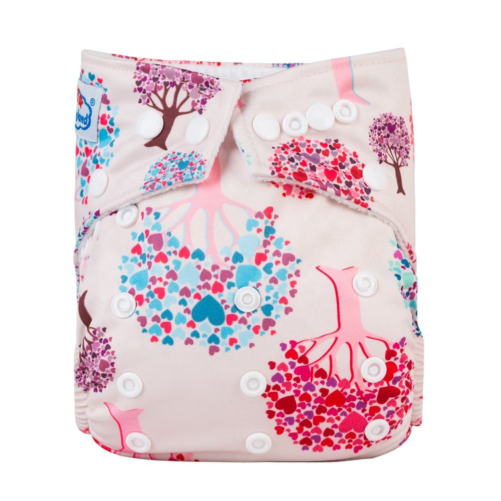High Quality Washable Cloth Diaper Ecological Suede Inner Cloth Diapers Made in China Reusable Diaper Supplier