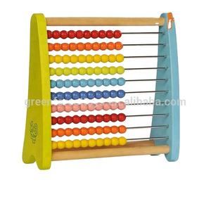 High Quality Toys Rainbow wooden abacus kit toys
