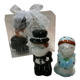 Ywbeyond Westland Giftware Cake Topper Kissing Bride and Groom Salt Pepper Shaker arabic wedding gifts souvenirs