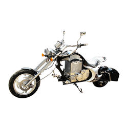 High speed 3000W 72V electric chopper motorcycle with lithium battery