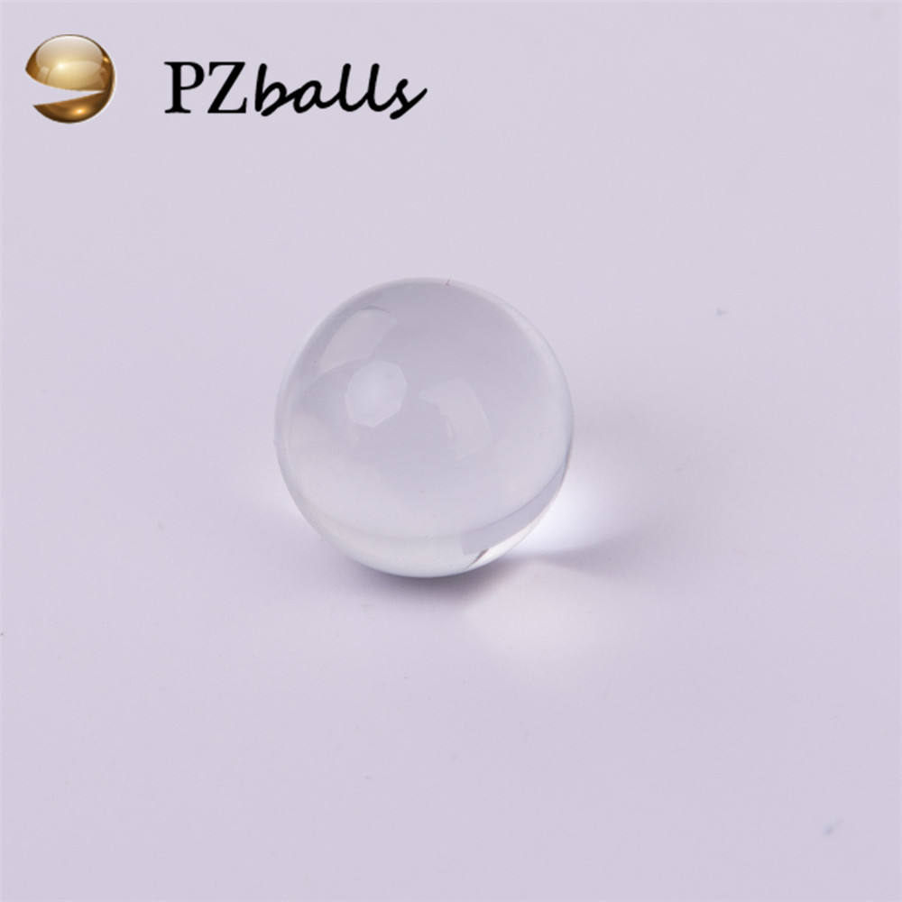 25mm 30mm 35mm 50mm clear glass marble crystal balls