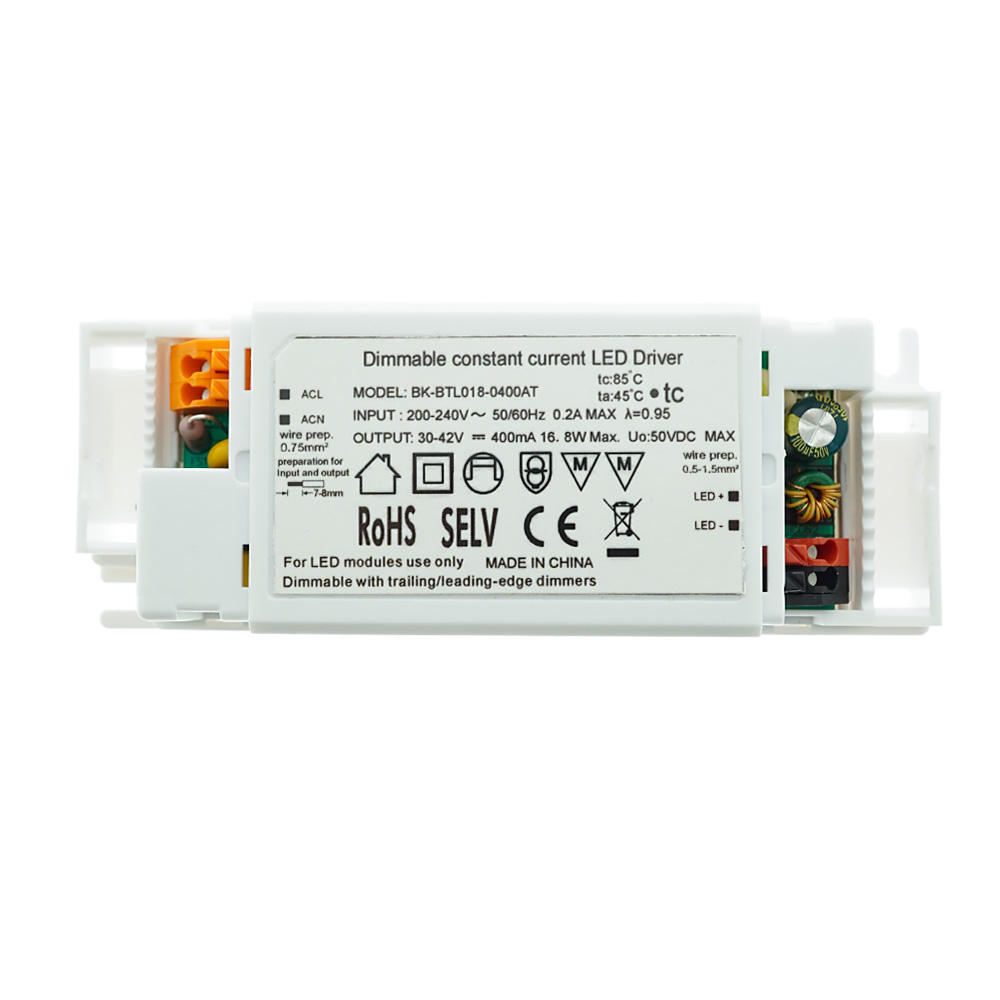 CE Triac/Phase-Cut Dimmable Constant Current LED Driver 18W
