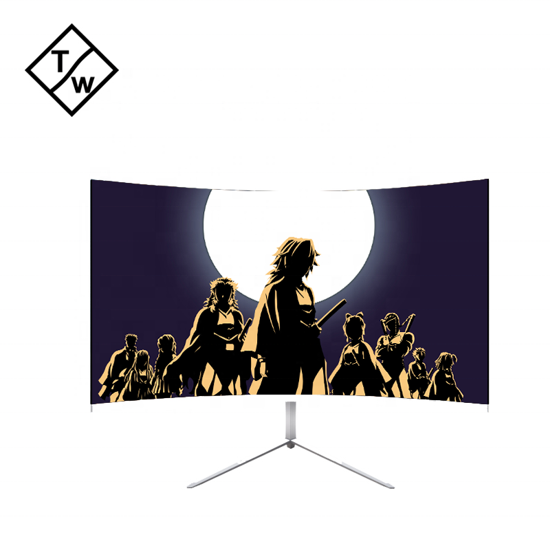 "32 ""pulgadas 144Hz curva <span class=keywords><strong>LED</strong></span> Monitor Gaming 300 nits 1ms DC 12V"