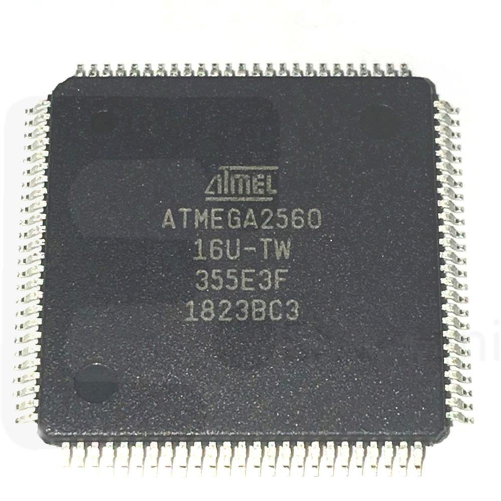 atmega2560-8au 8-bit Microcontroller IC CHIP Flash atmega 2560 buy electronic components