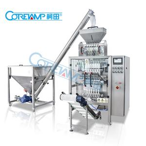 High quality multi-lane 3g 5g 7g stick sugar packing machine/coffee powder stick filling packaging machine