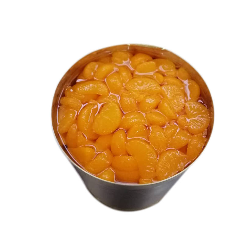 A10/3000g OEM Factory Direct Canned Mandarin Orange Whole Segments in Syrup Canned Fruit
