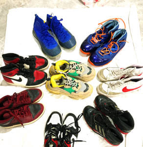 factory price and High quality sports used shoes